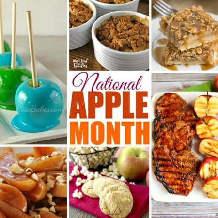 National Apple Month recipe round up