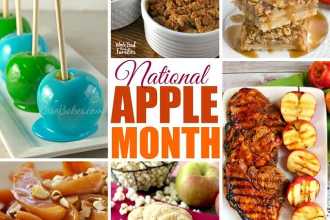 Blogger's Favorite Apple Recipes For #NationalAppleMonth