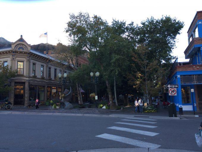 A street in downtown Aspen