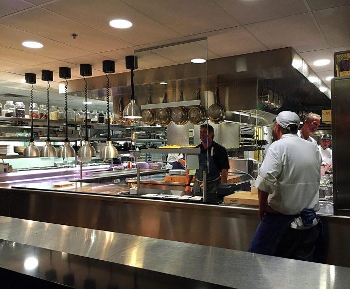 Chef's Club kitchen