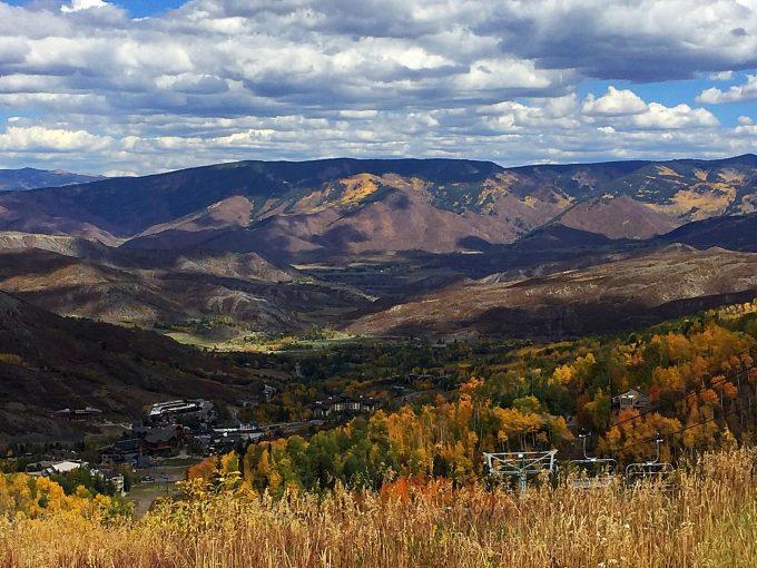 View from Lynn Britt Cabin