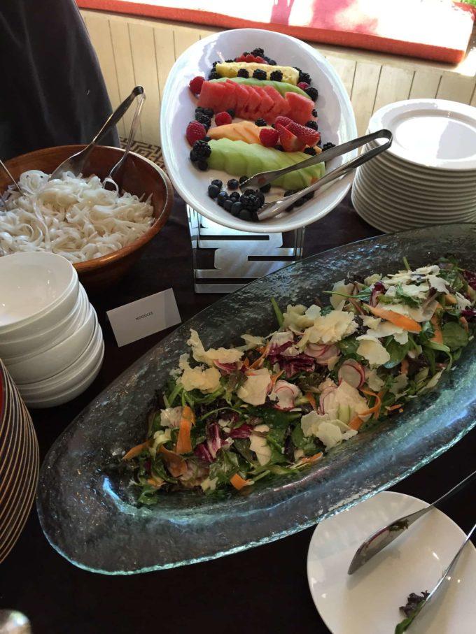 Beef Pho Salad Bar