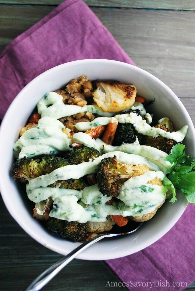 Roasted Vegetable Power Bowl