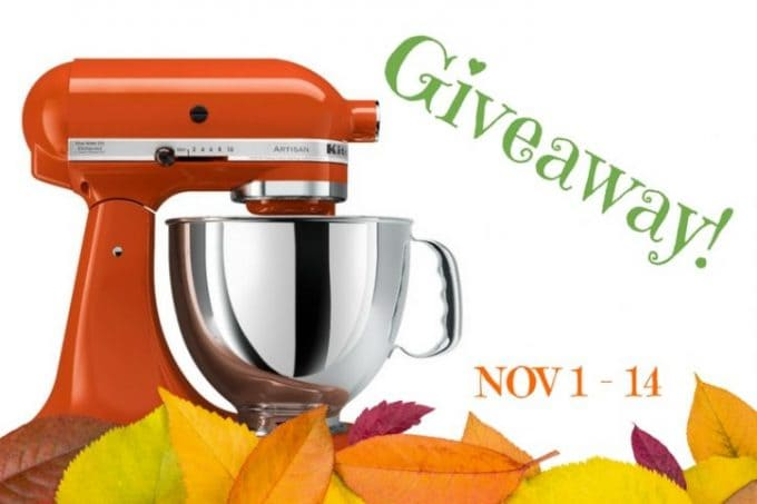 Falling For KitchenAid Giveaway