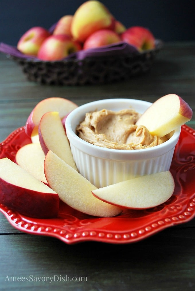Peanut Butter Protein Dip For Apples