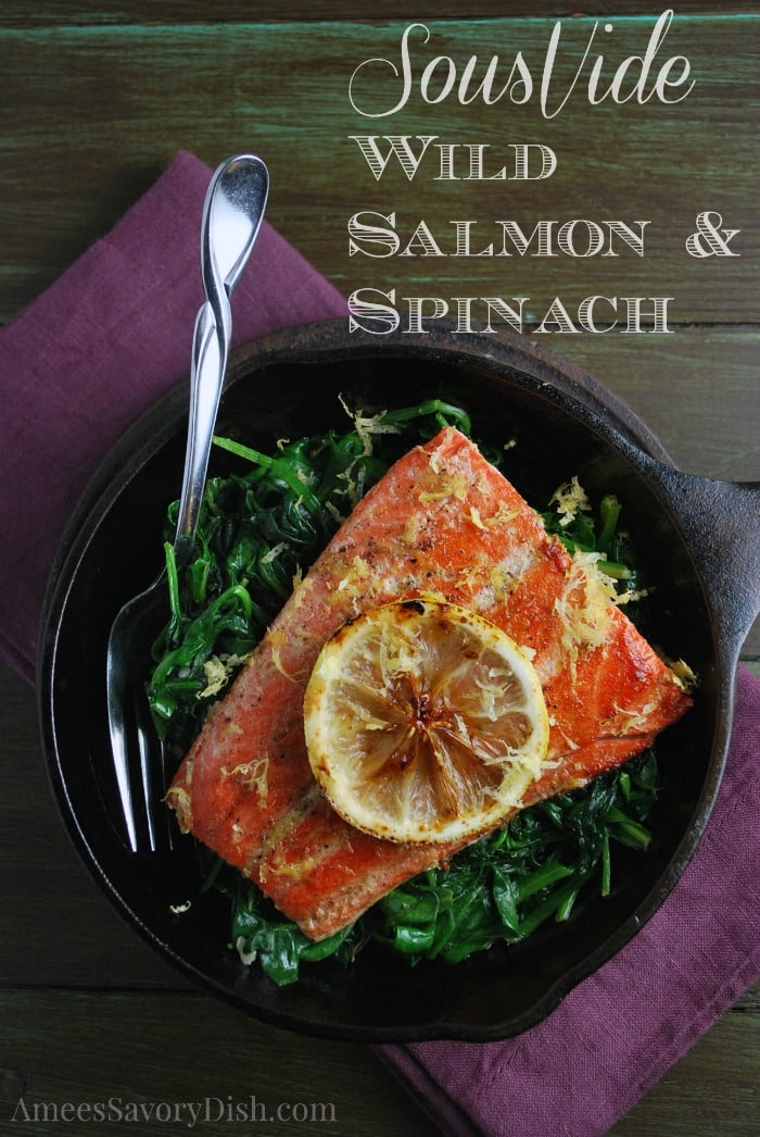 Sous Vide Salmon recipe