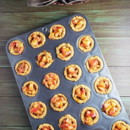 PB Apple Tartlets recipe