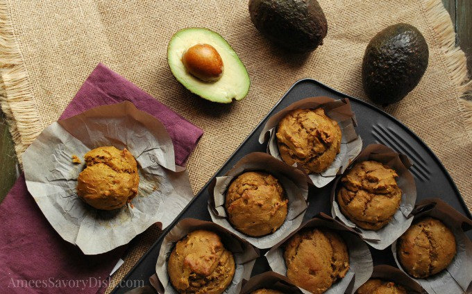 Tasty Avocado Pumpkin Muffins