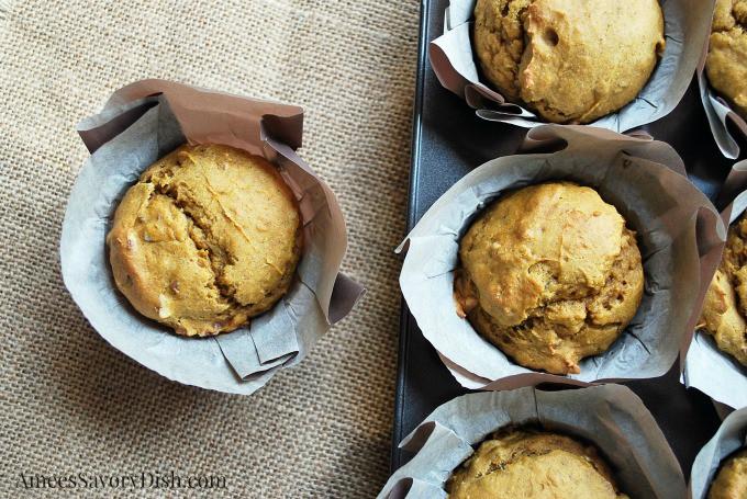 Avocado Pumpkin Muffins
