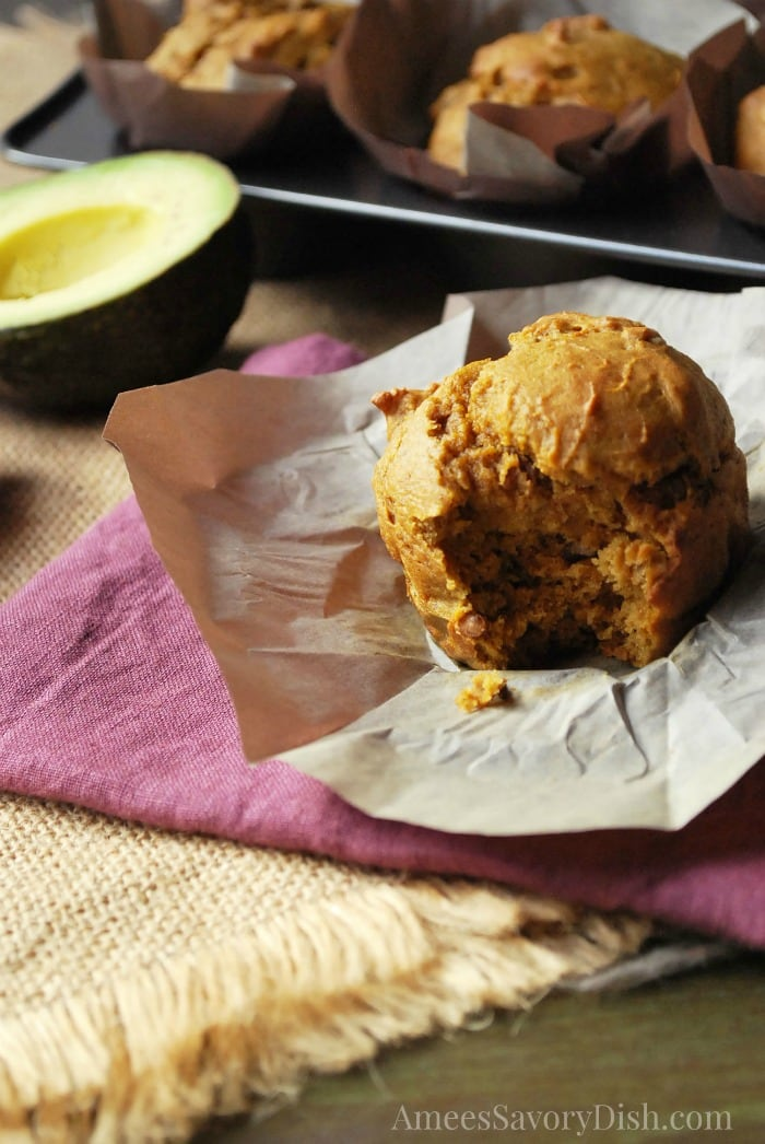 Delicious Avocado Pumpkin Muffins