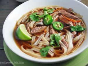 Easy Beef Pho Bowl