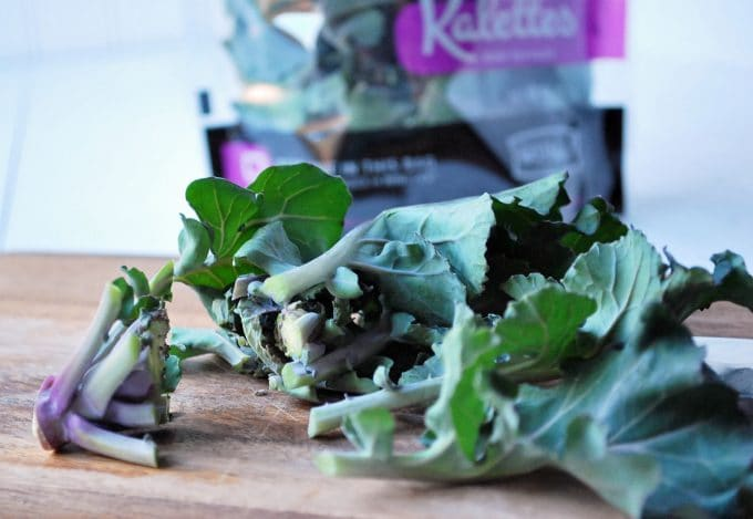 Kalettes chopped
