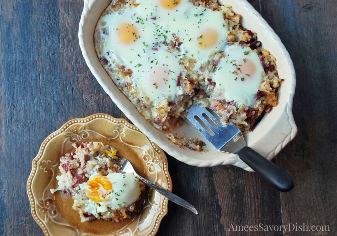 Corned Beef Hash Breakfast Casserole