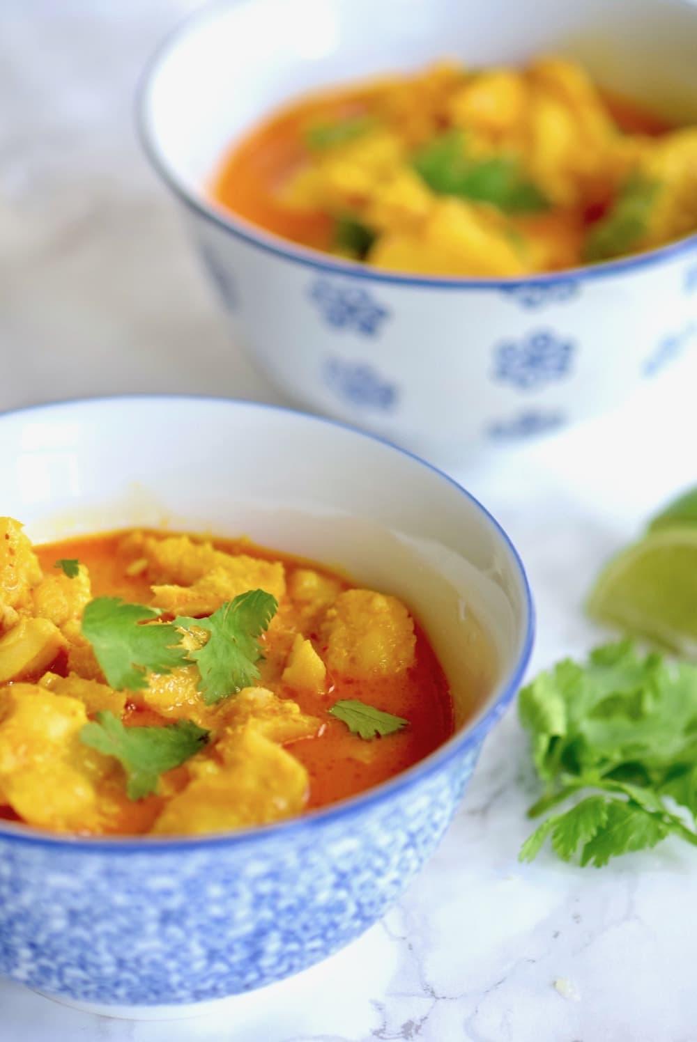 Coconut Curry Sea Bass