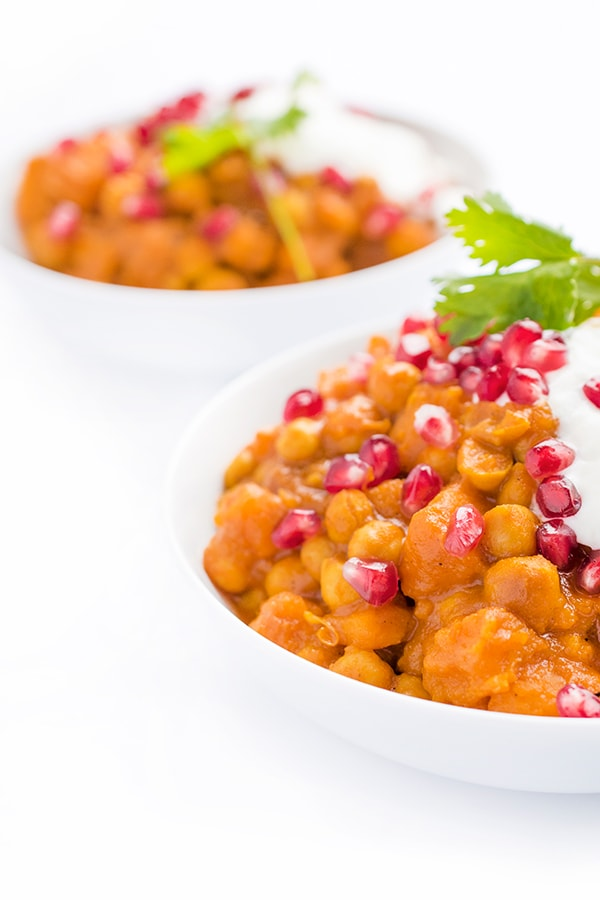 Slow Cooker Vegetarian Chickpea Curry