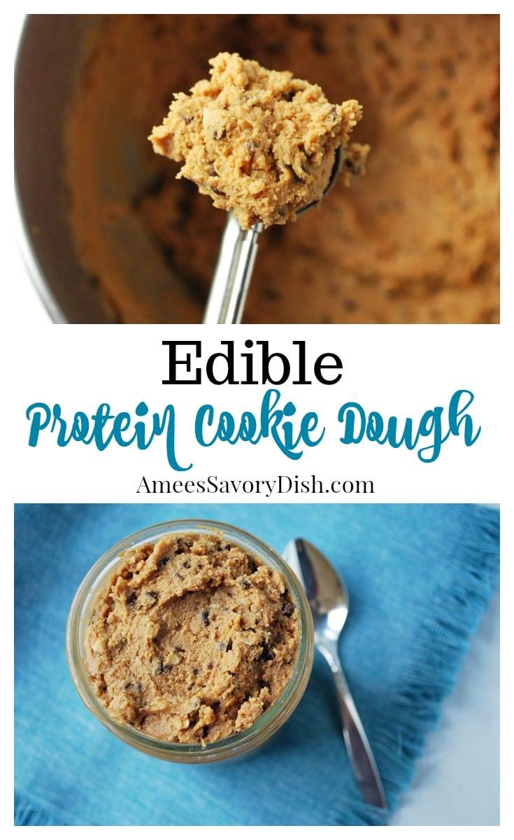 Edible Protein Cookie Dough recipe