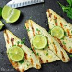 Grilled Garlic Lime Sea Bass