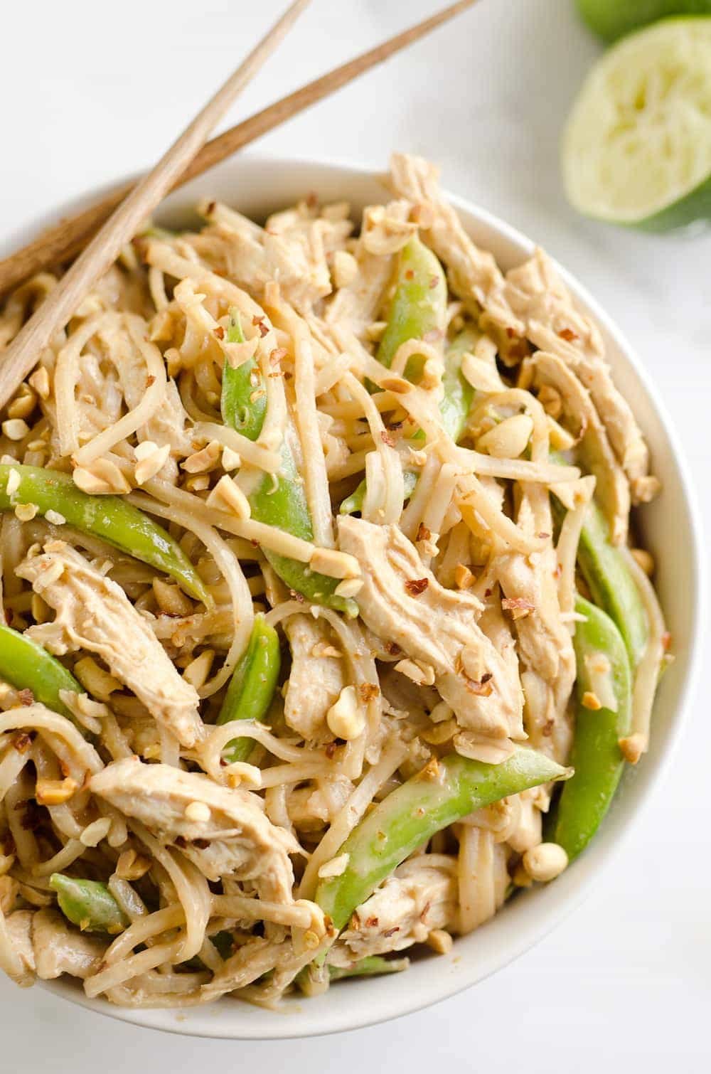 Pressure Cooker Thai Peanut Chicken