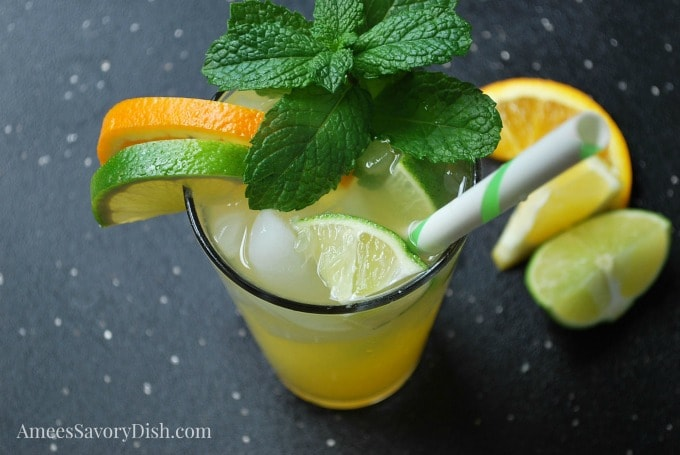 Summer Citrus Cocktail recipe