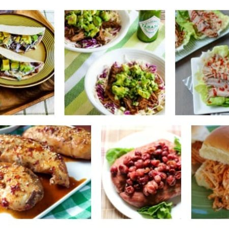 5 Ingredient Healthy Slow Cooker round up