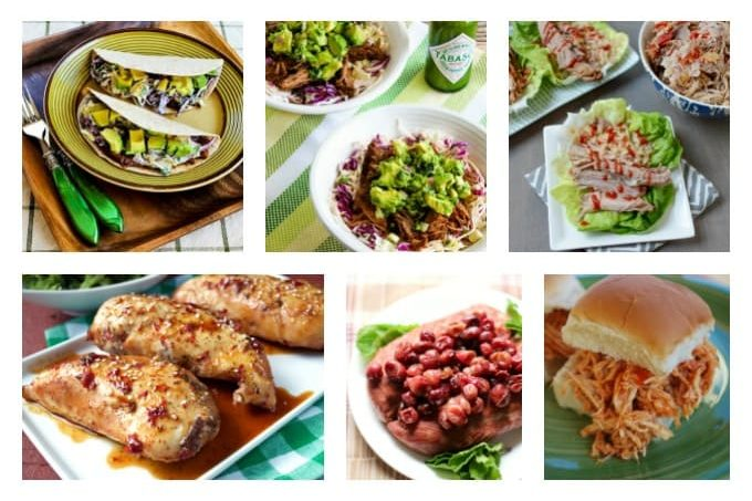 Five Ingredient or Less Healthy Slow Cooker Recipes