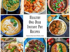 Healthy One-Dish Instant Pot Recipes