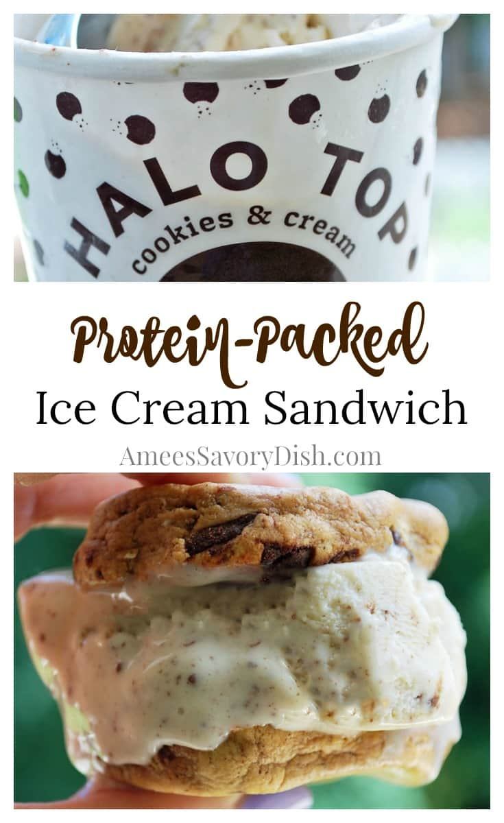 Protein-Packed Ice Cream Sandwich