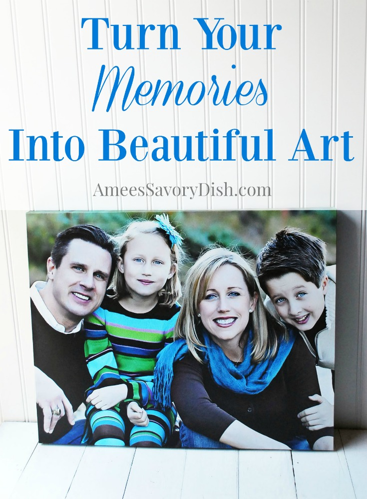 Turn Memories Into Beautiful Art giveaway