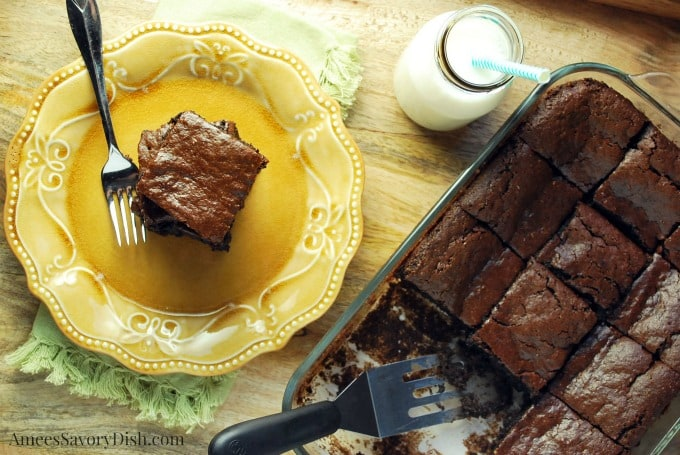 Chocolate Tahini Brownies