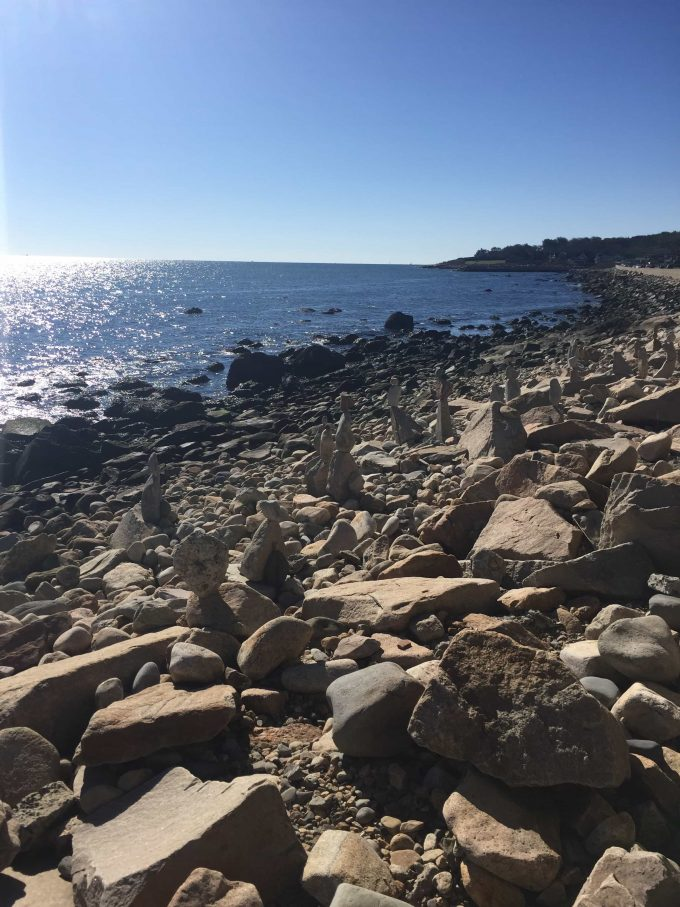 Narragansett Rhode Island coast