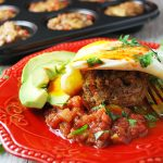Southwest Beef Breakfast Muffins