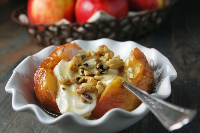 Protein-Packed Stuffed Baked Apples