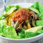 Beef Fajita Salad-Eat For Weight Loss Success