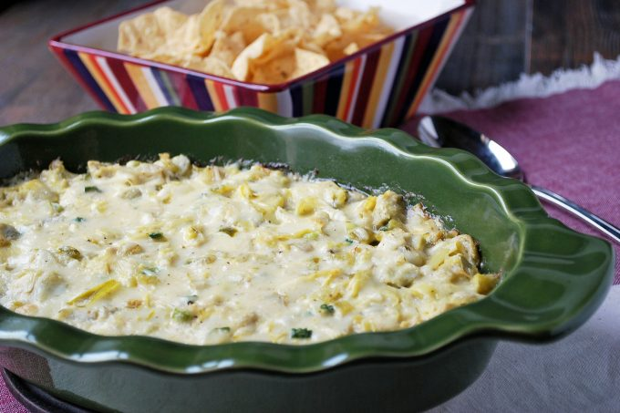 The Best Hot Artichoke Dip