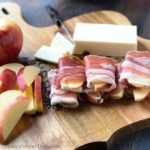 Autumn Glory Apple Prosciutto Cheddar Wraps