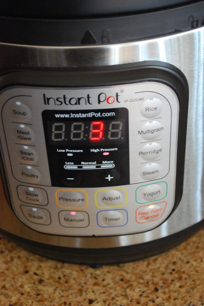 Maple Pecan Instant Pot Steel Cut Oats cooking time