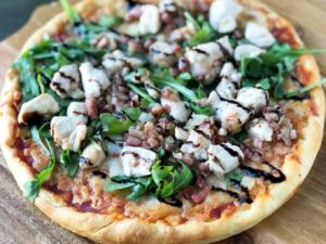Table5 Balsamic Glazed Chicken Arugula Pizza