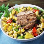 Caribbean Grilled Jerk Chicken Bowls