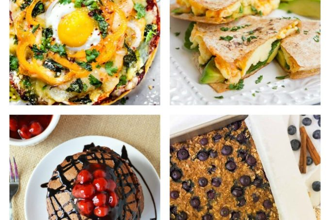 Delicious Protein Breakfast Recipes round-up
