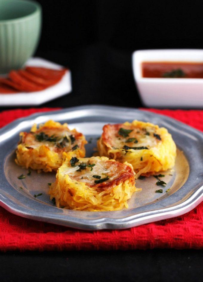 Spaghetti Squash Pizza Nests and 28 Amazing Low Carb Spaghetti Squash Recipes