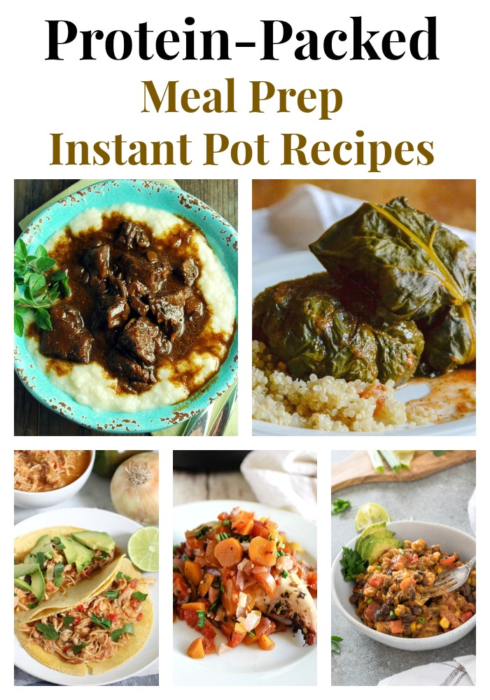 Make meal planning effortless with these 10 mouthwatering protein-packed Meal Prep Instant Pot Recipes! #instantpot #mealpreprecipes #mealprep #proteinrecipes via @Ameessavorydish