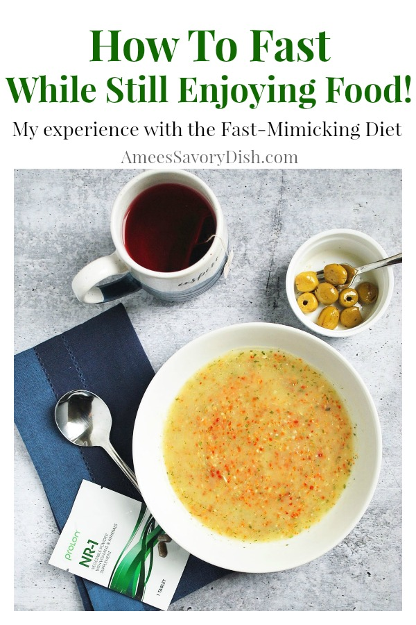 I'm incredibly intrigued with fasting and cancer and how it affects the body on a cellular level during and after treatment.  I'm sharing my recent experience with the ProLon FMD (fast mimicking diet), a fasting protocol that allows you to fast while still enjoying food