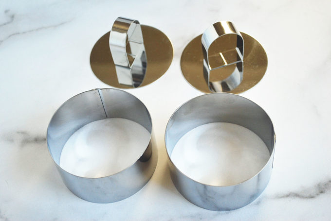 pastry molds for Japanese soufflé pancakes