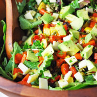 The best roasted veggie salad
