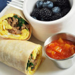 Easy low-carb breakfast burritos for meal prep