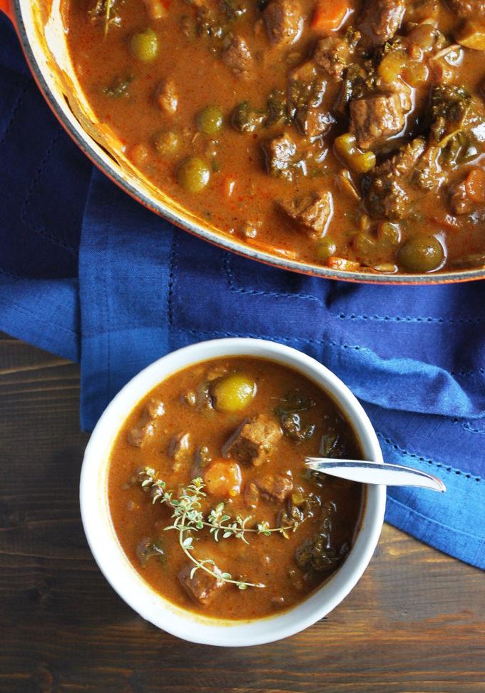 Mediterranean Vegetable Beef Stew