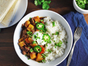 Slow Cooker Mexican Picadillo