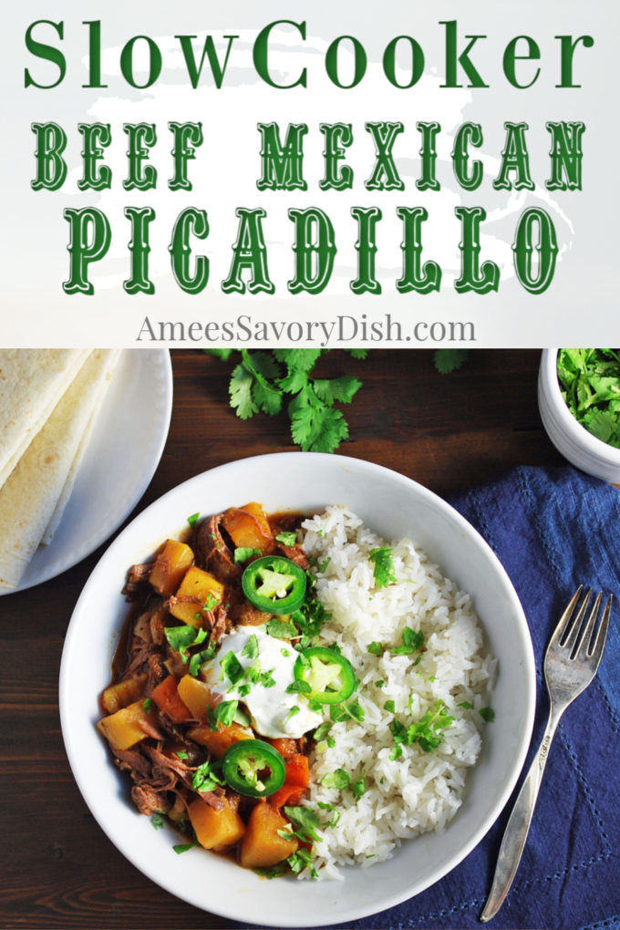 Slow Cooker Beef Mexican Picadillo Recipe