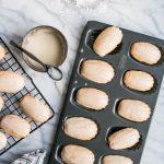 egg nog madeleines guest post