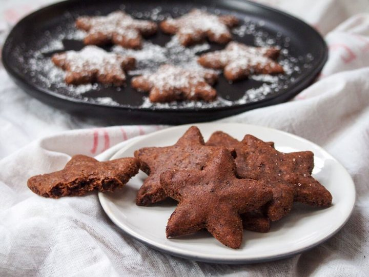 swiss chocolate cookies from Caroline's cooking